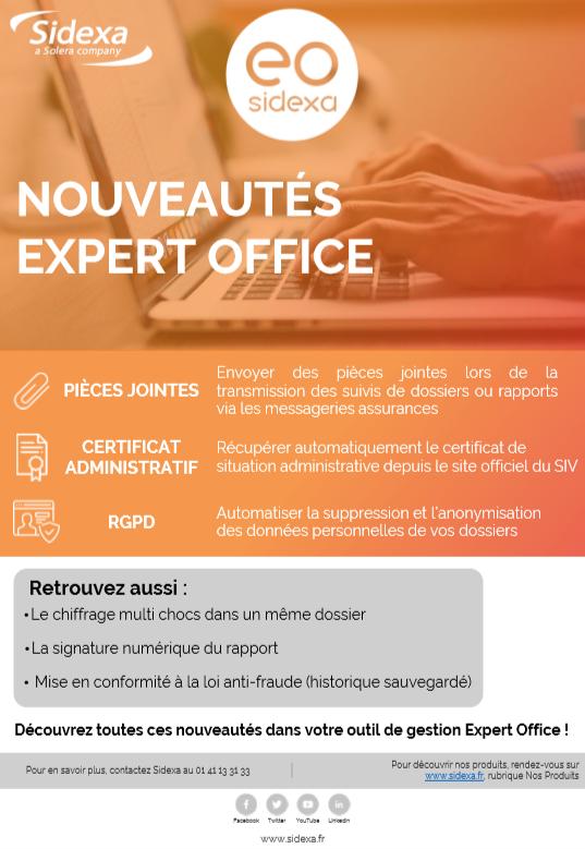 Nouveautés : Expert Office