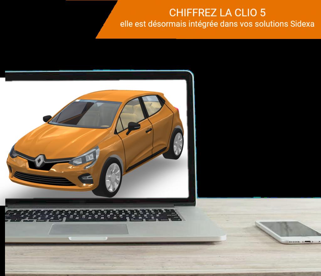 Clio 5-disponible_dans les outils Sidexa